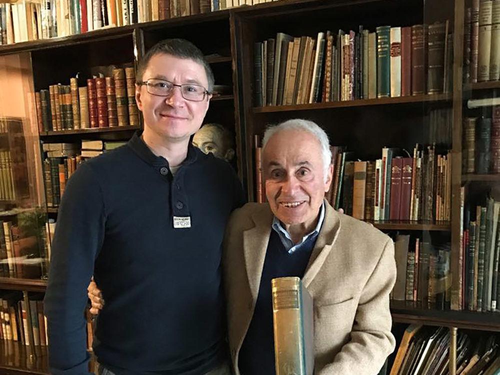 В гостях у Riccardo Mazzola — Виталий Жолтиков