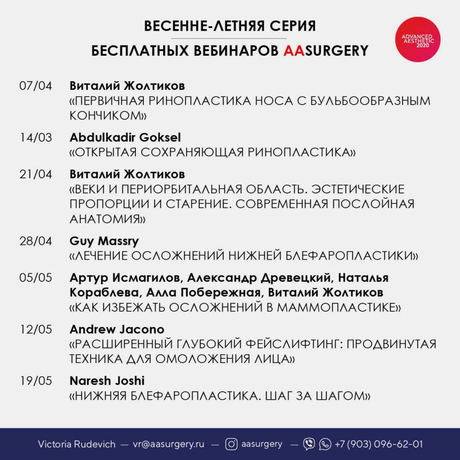 Виталий Жолтиков — пластический хирург на карантине