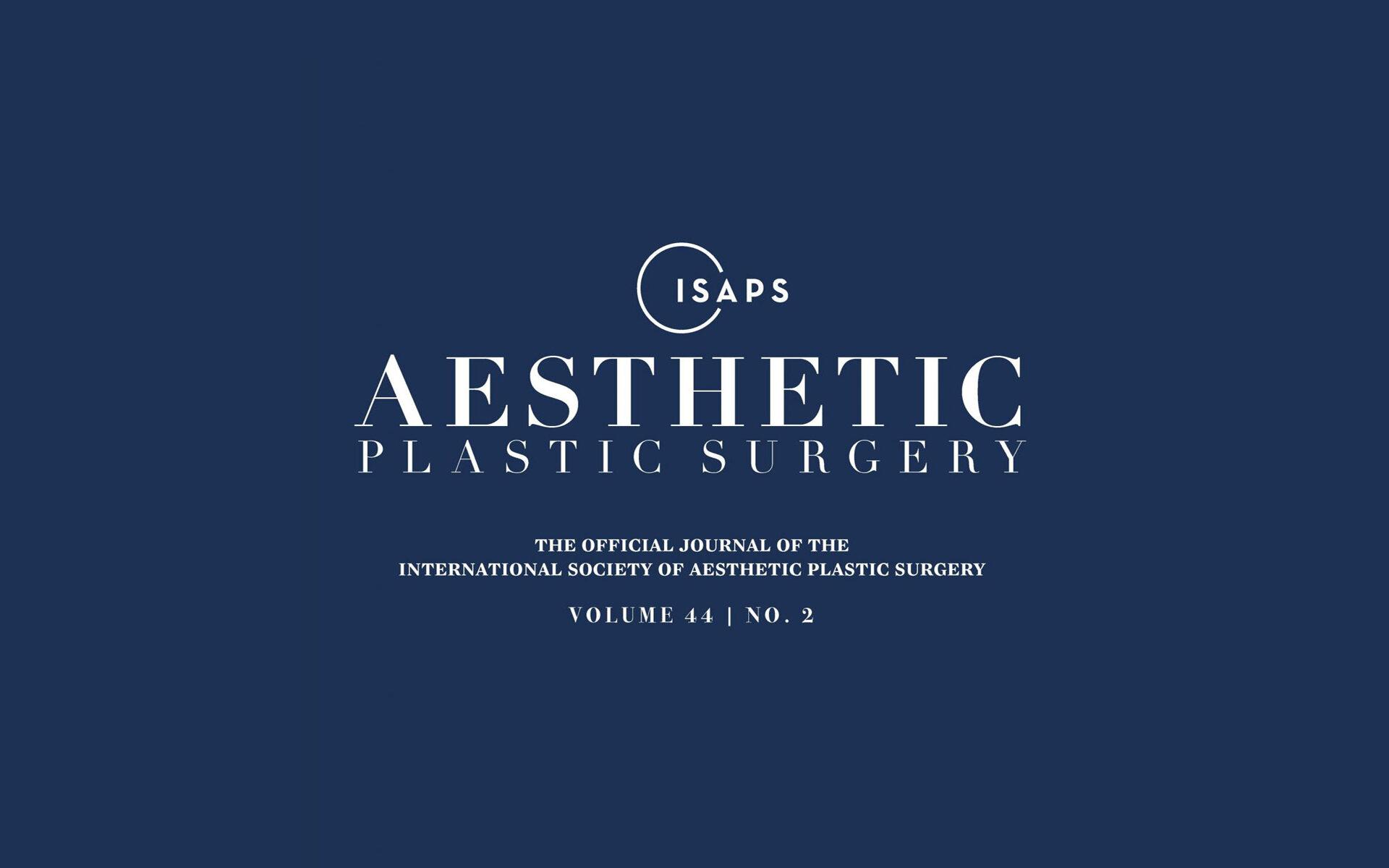 Статья из цикла Коррекция Тубулярной Груди в Aesthetic Plastic Surgery Journal — Виталий Жолтиков